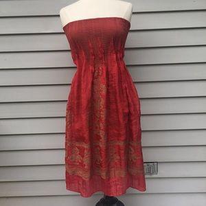 Lapis Women's Strapless Dress One Size S M L
